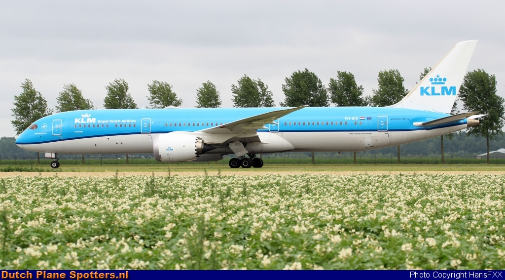 PH-BHI Boeing 787-9 Dreamliner KLM Royal Dutch Airlines by HansFXX