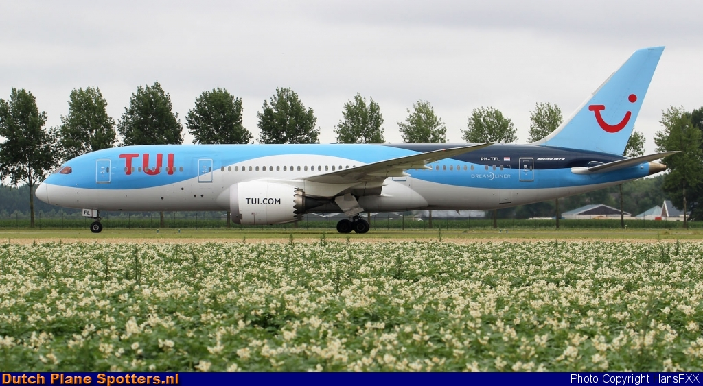 PH-TFL Boeing 787-8 Dreamliner TUI Airlines Netherlands by HansFXX