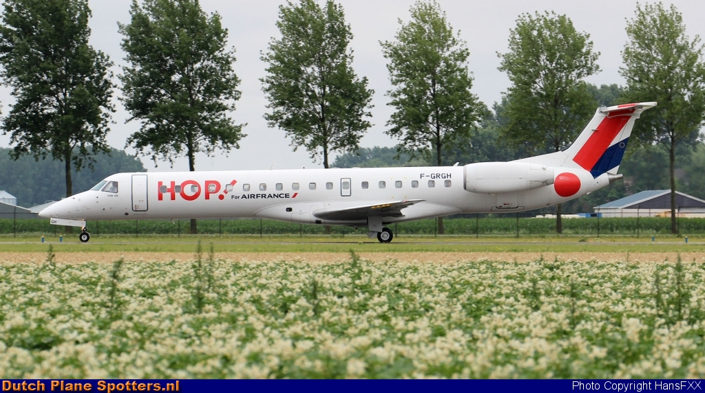 F-GRGH Embraer 145 Hop (Air France) by HansFXX