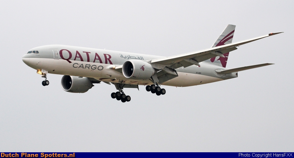 A7-BFF Boeing 777-F Qatar Airways Cargo by HansFXX
