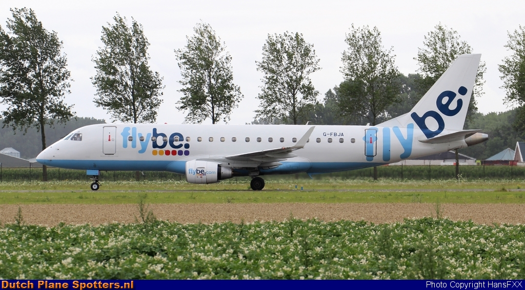 G-FBJA Embraer 170 Flybe by HansFXX