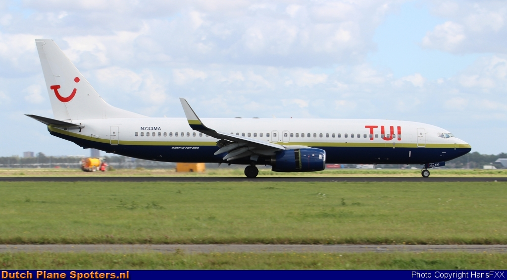 N733MA Boeing 737-800 Miami Air (TUI Airlines Netherlands) by HansFXX