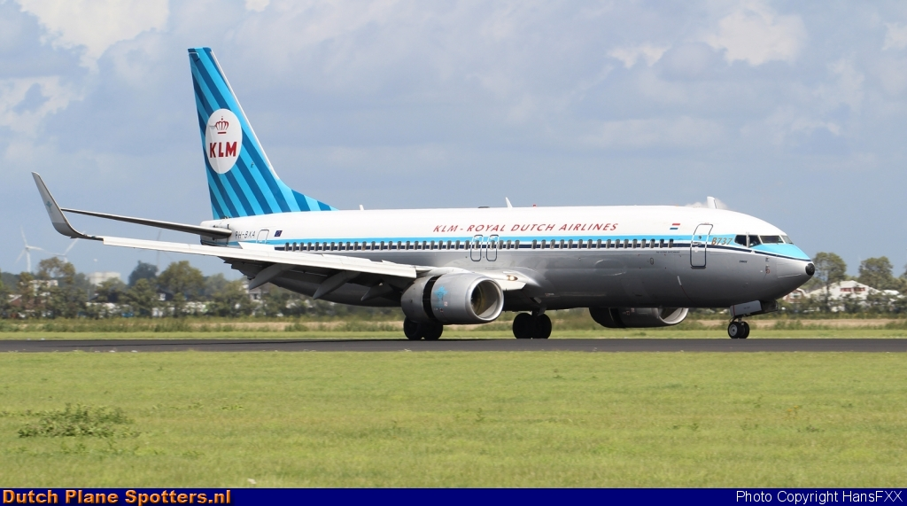 PH-BXA Boeing 737-800 KLM Royal Dutch Airlines by HansFXX