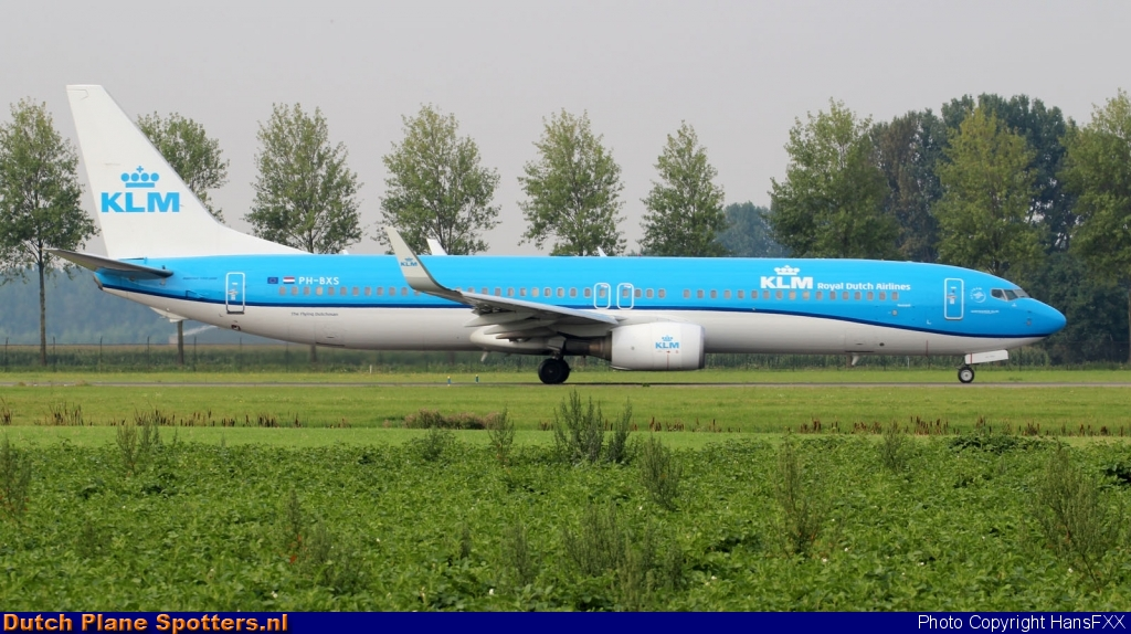 PH-BXS Boeing 737-900 KLM Royal Dutch Airlines by HansFXX