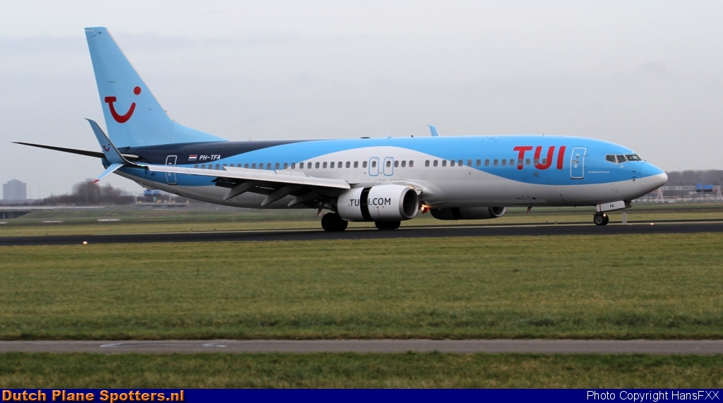 PH-TFA Boeing 737-800 TUI Airlines Netherlands by HansFXX