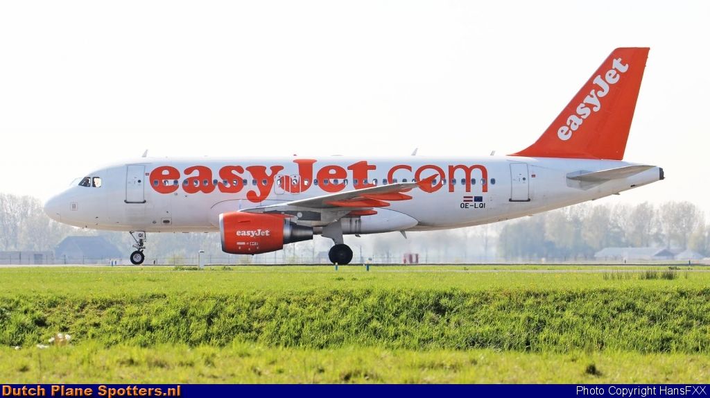 OE-LQI Airbus A319 easyJet Europe by HansFXX