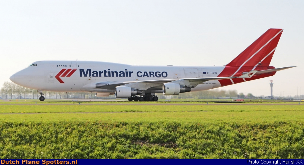 PH-MPS Boeing 747-400 Martinair Cargo by HansFXX
