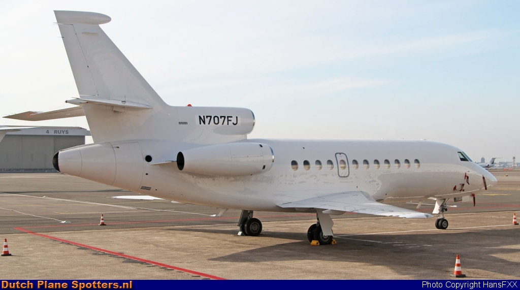 N707FJ Dassault Falcon 900 Private by HansFXX