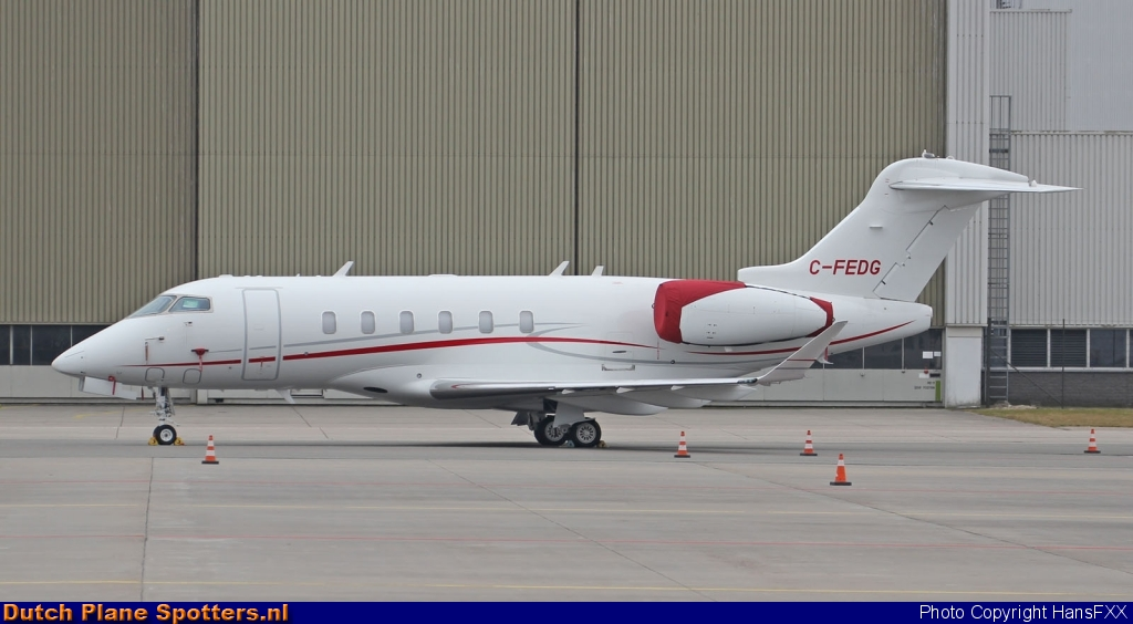 C-FEDG Bombardier Challenger 300 Skyservice Business Aviation by HansFXX