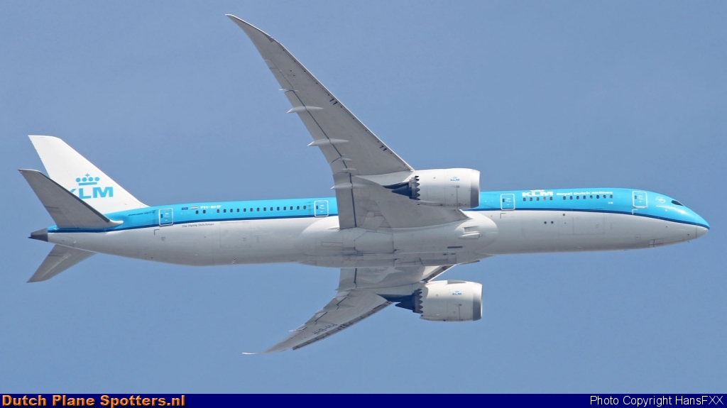 PH-BHF Boeing 787-9 Dreamliner KLM Royal Dutch Airlines by HansFXX