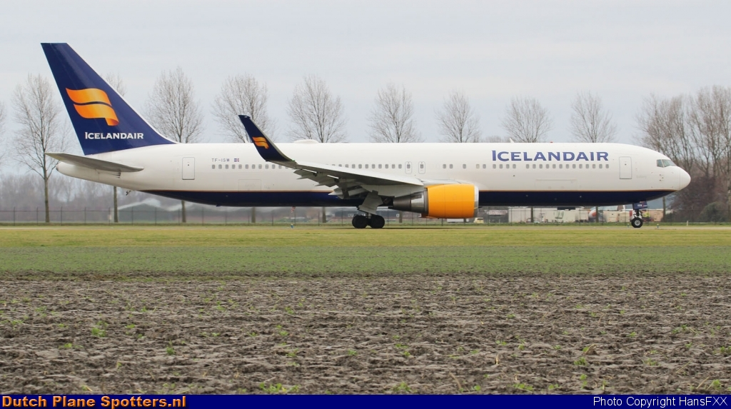 TF-ISW Boeing 767-300 Icelandair by HansFXX