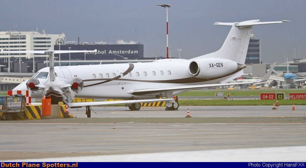 XA-GEN Embraer 135 Legacy 650 Private by HansFXX