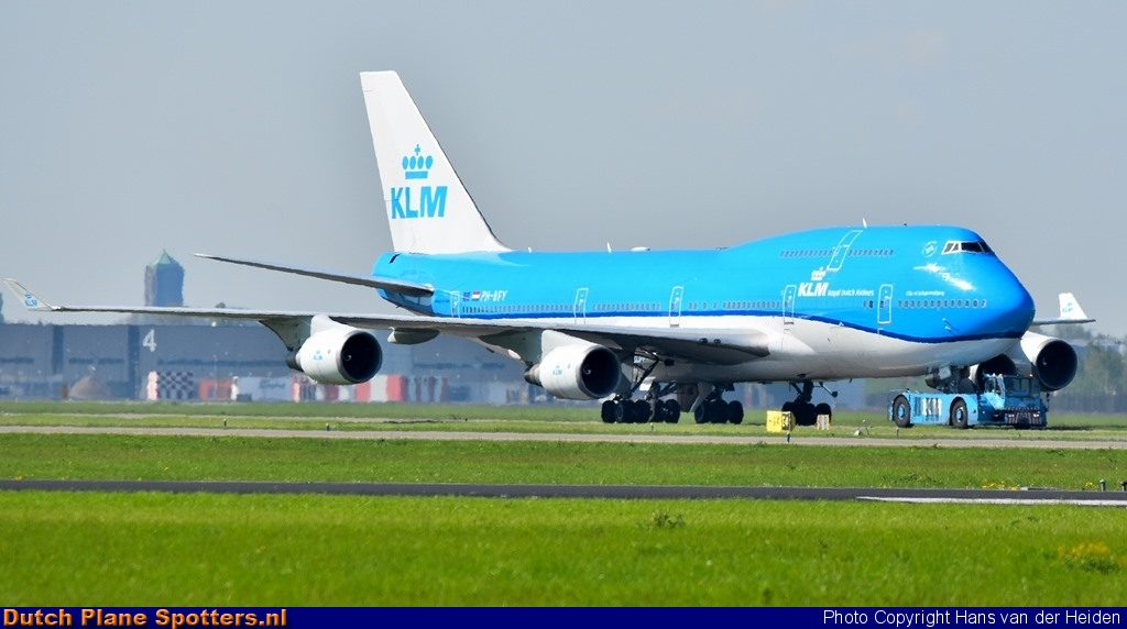 PH-BFY Boeing 747-400 KLM Royal Dutch Airlines by Hans van der Heiden