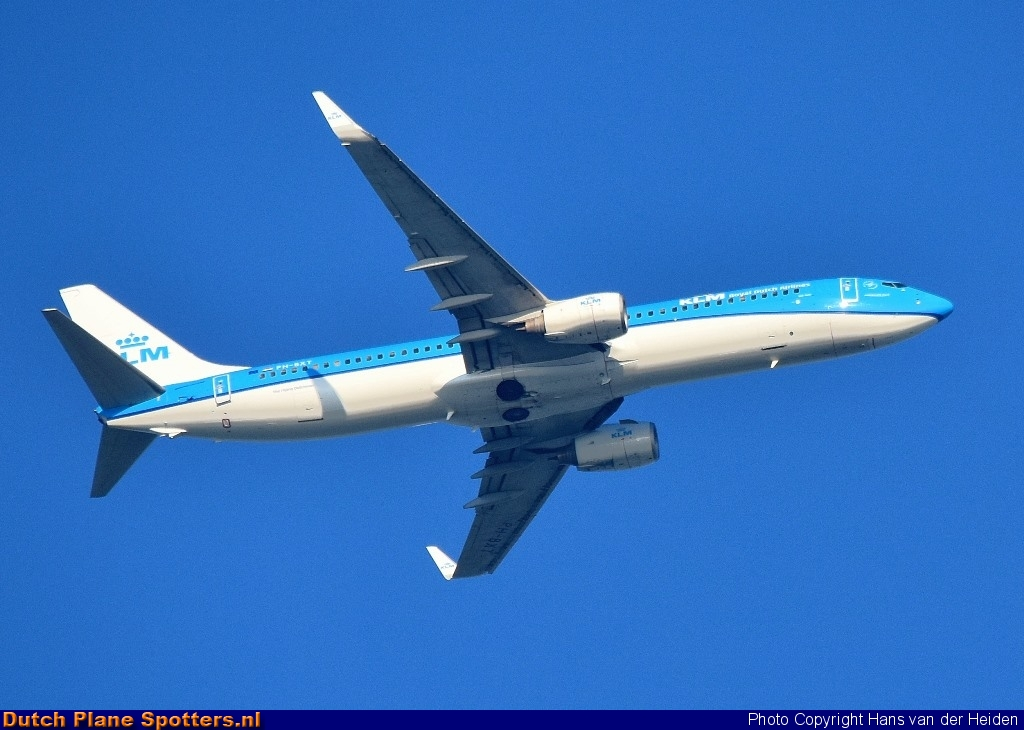PH-BXT Boeing 737-800 KLM Royal Dutch Airlines by Hans van der Heiden