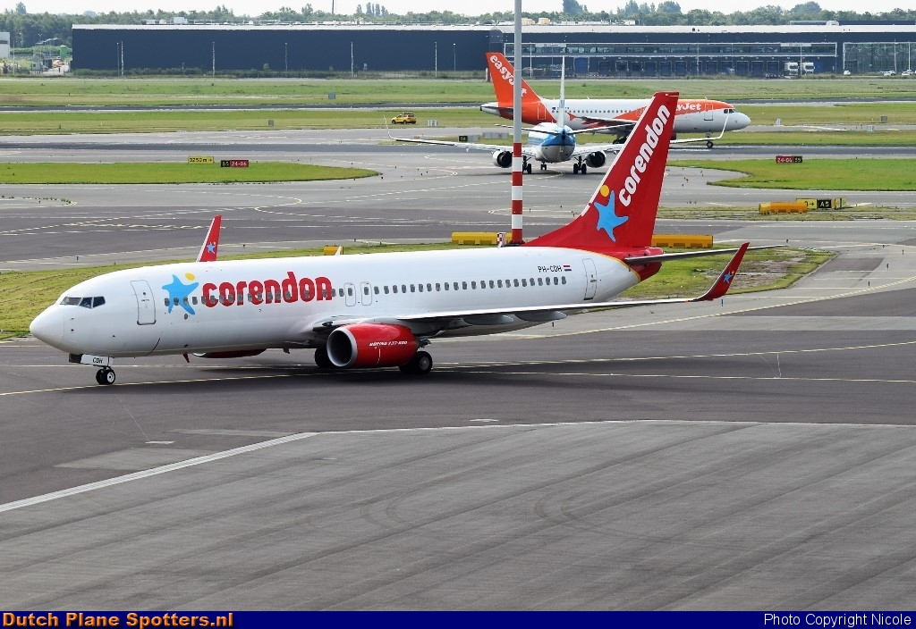 PH-CDH Boeing 737-800 Corendon Dutch Airlines by Nicole