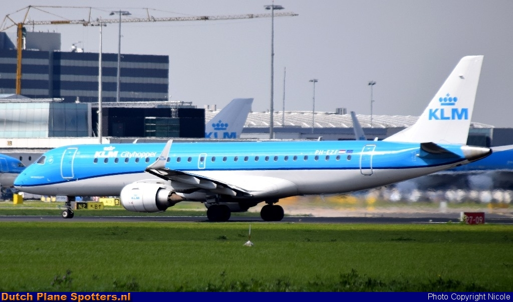 PH-EZF Embraer 190 KLM Cityhopper by Nicole