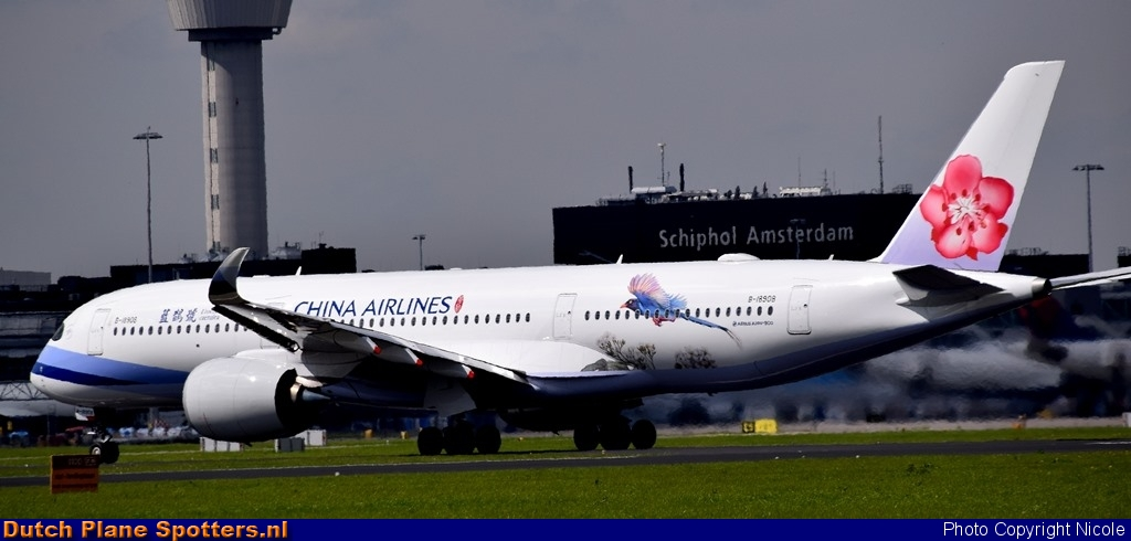 B-18908 Airbus A350-900 China Airlines by Nicole