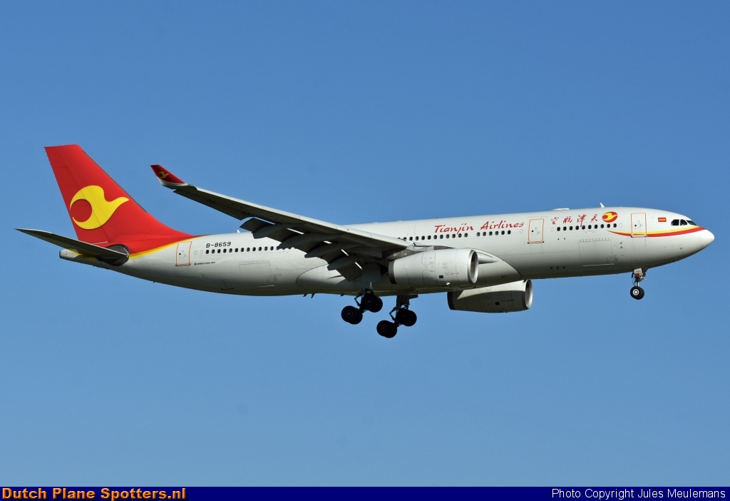 B-8659 Airbus A330-200 Tianjin Airlines by Jules Meulemans