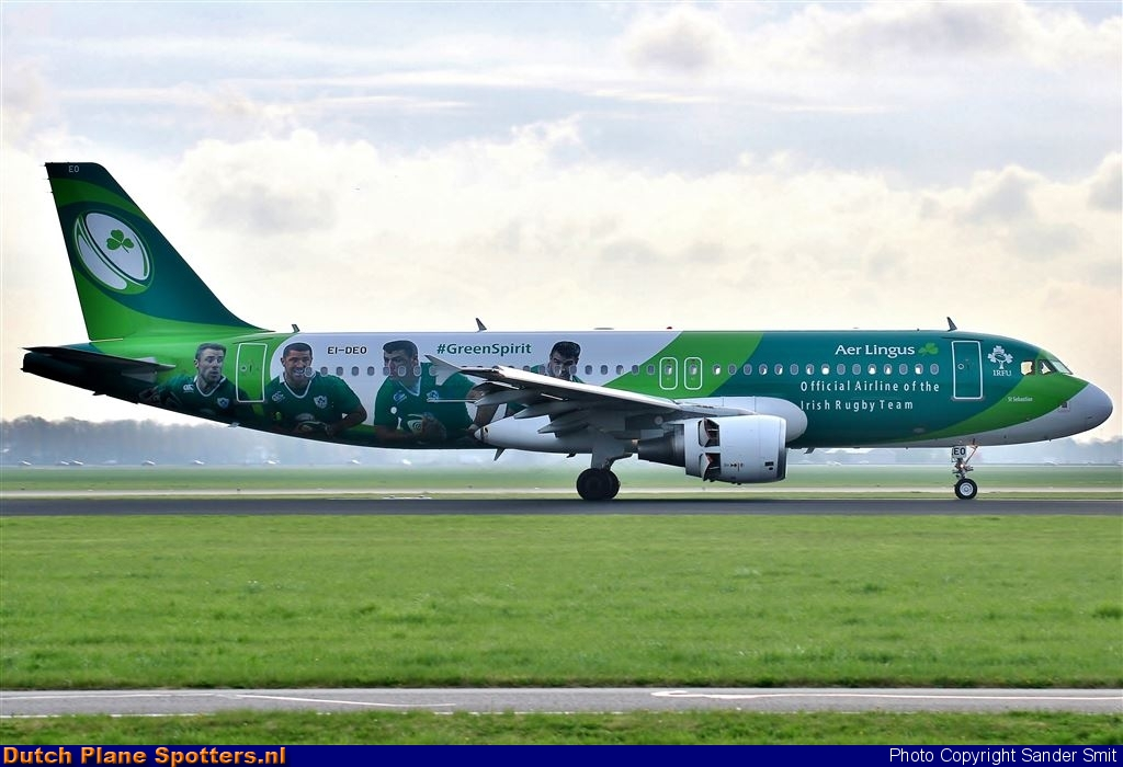 EI-DEO Airbus A320 Aer Lingus by Sander Smit