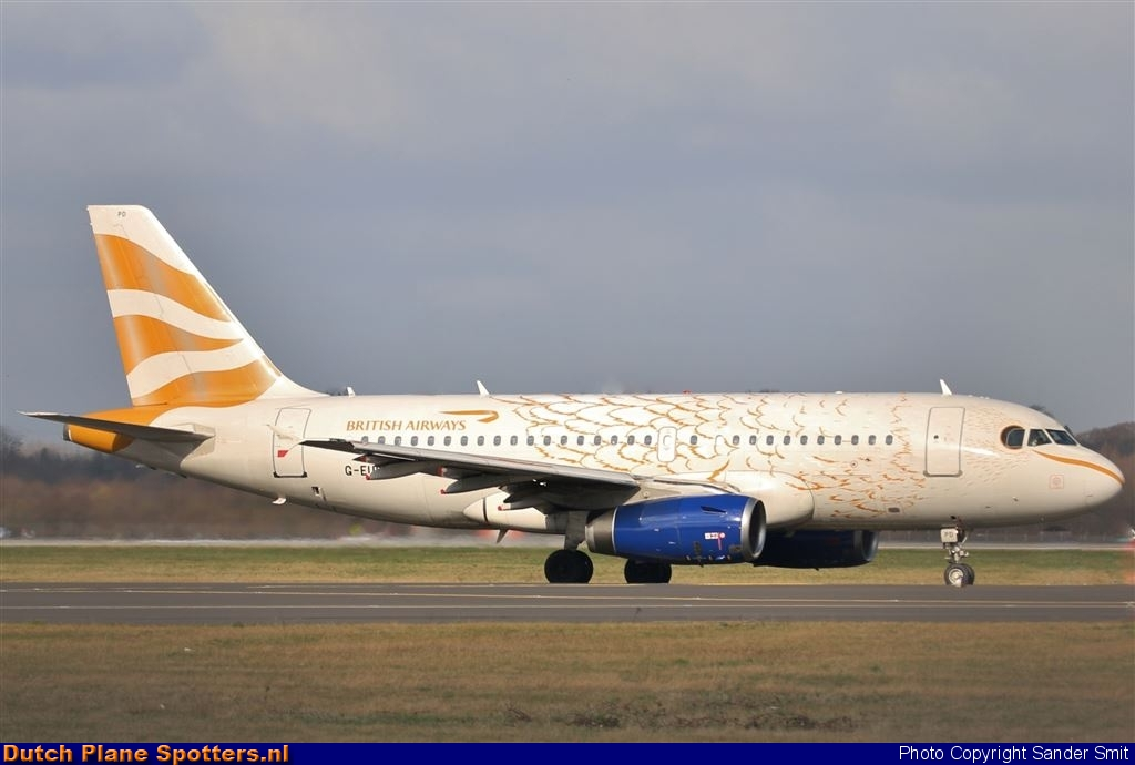G-EUPD Airbus A319 British Airways by Sander Smit