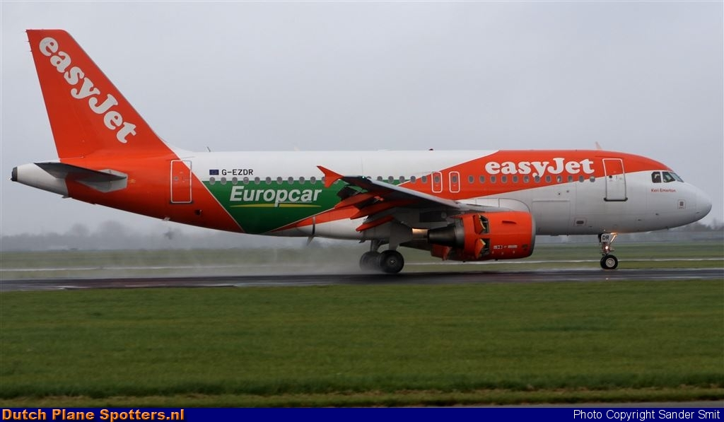 G-EZDR Airbus A319 easyJet by Sander Smit