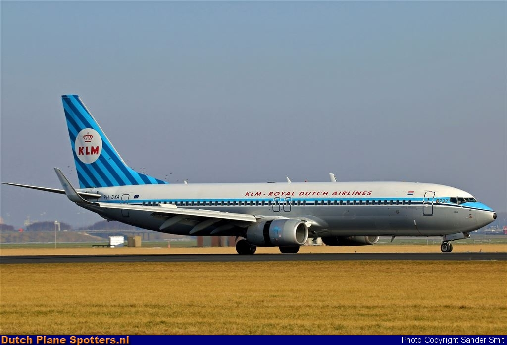 PH-BXA Boeing 737-800 KLM Royal Dutch Airlines by Sander Smit