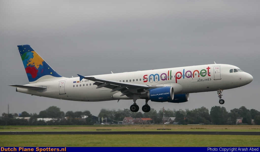 LY-SPF Airbus A319 Small Planet Airlines by Arash Abed
