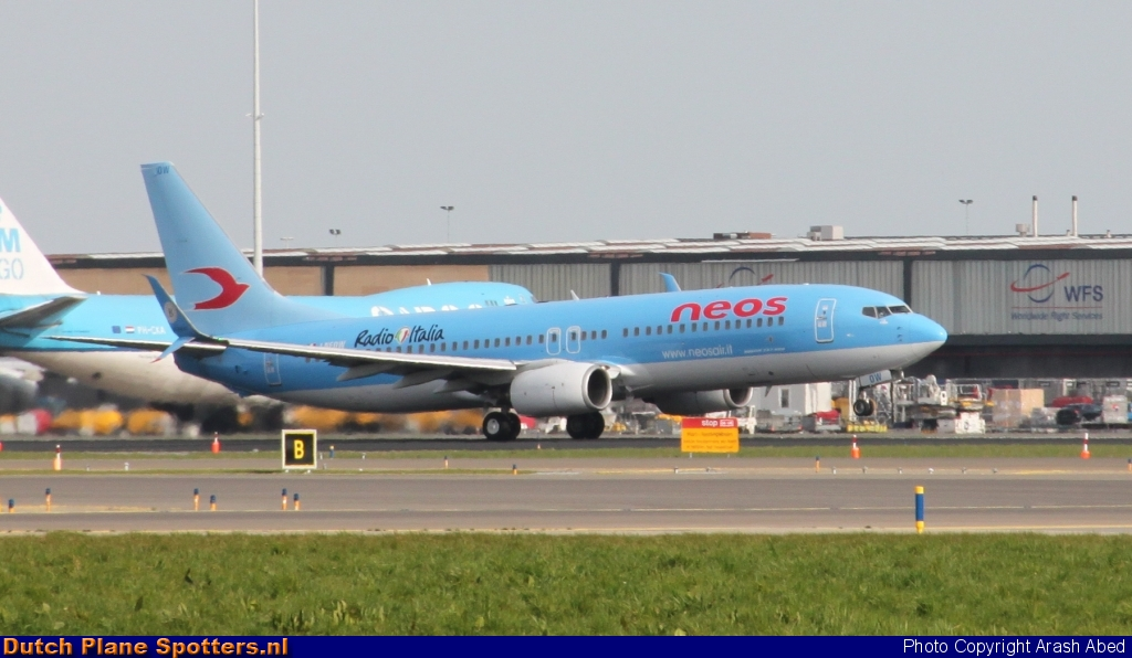 I-NEOW Boeing 737-800 Neos by Arash Abed