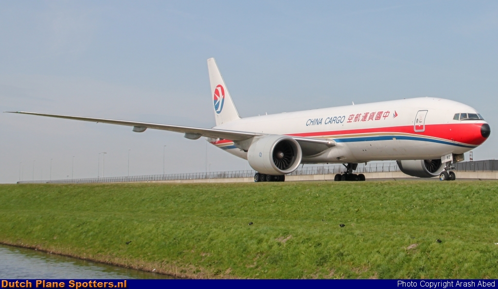 B-2082 Boeing 777-F China Cargo Airlines by Arash Abed