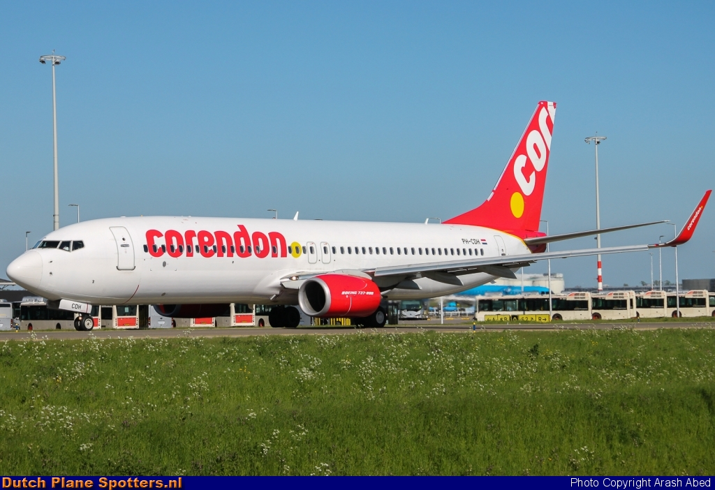 PH-CDH Boeing 737-800 Corendon Dutch Airlines by Arash Abed