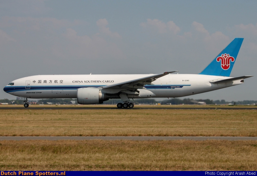 B-2080 Boeing 777-F China Southern Cargo by Arash Abed