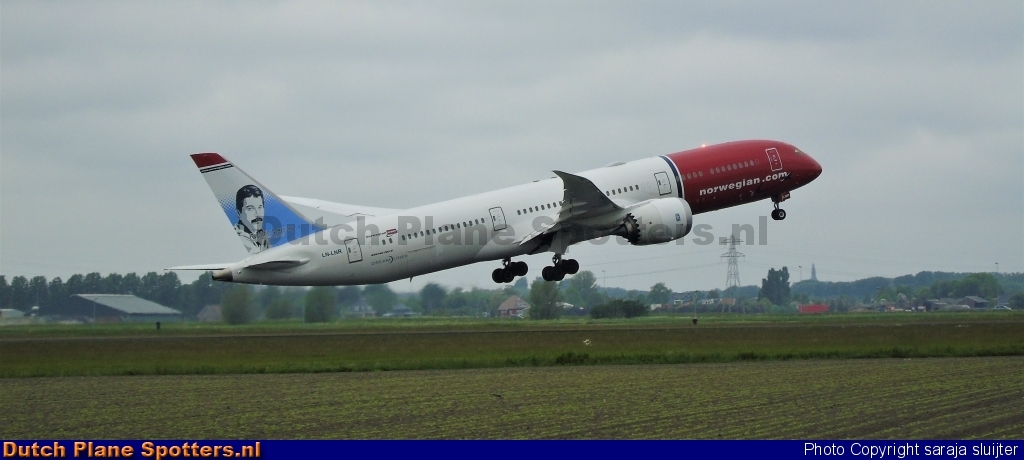 LN-LNR Boeing 787-9 Dreamliner Norwegian Air Shuttle by saraja sluijter