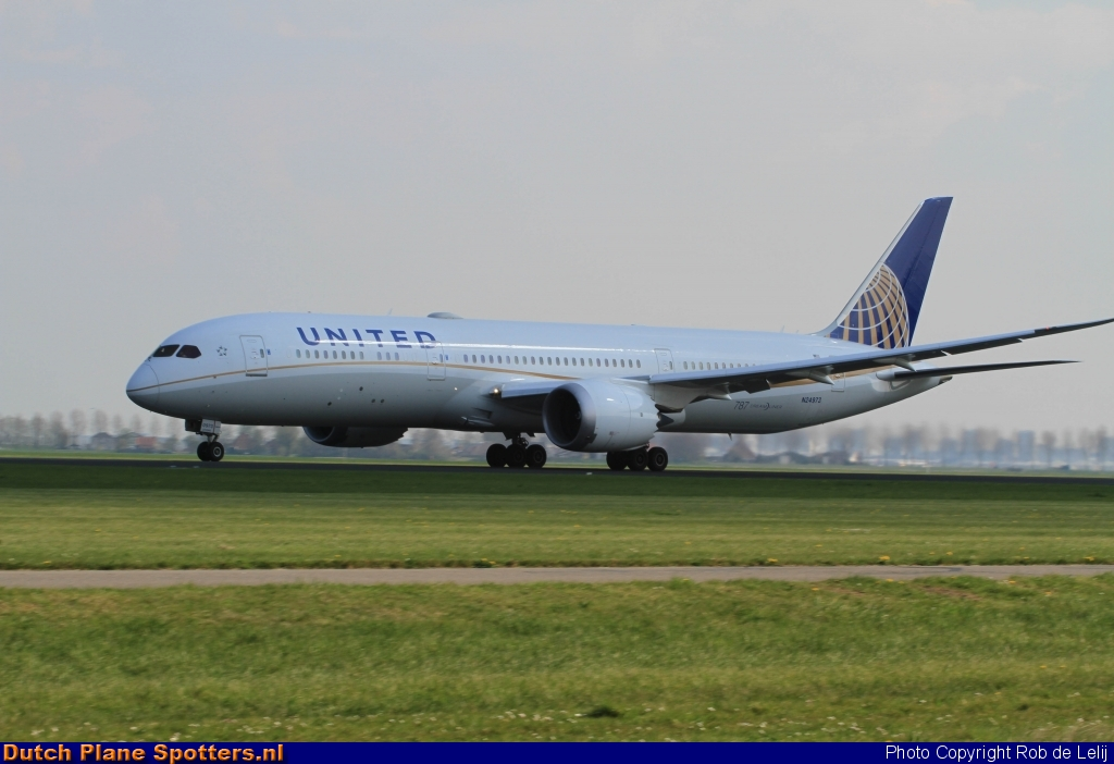 N24973 Boeing 787-9 Dreamliner United Airlines by Rob de Lelij