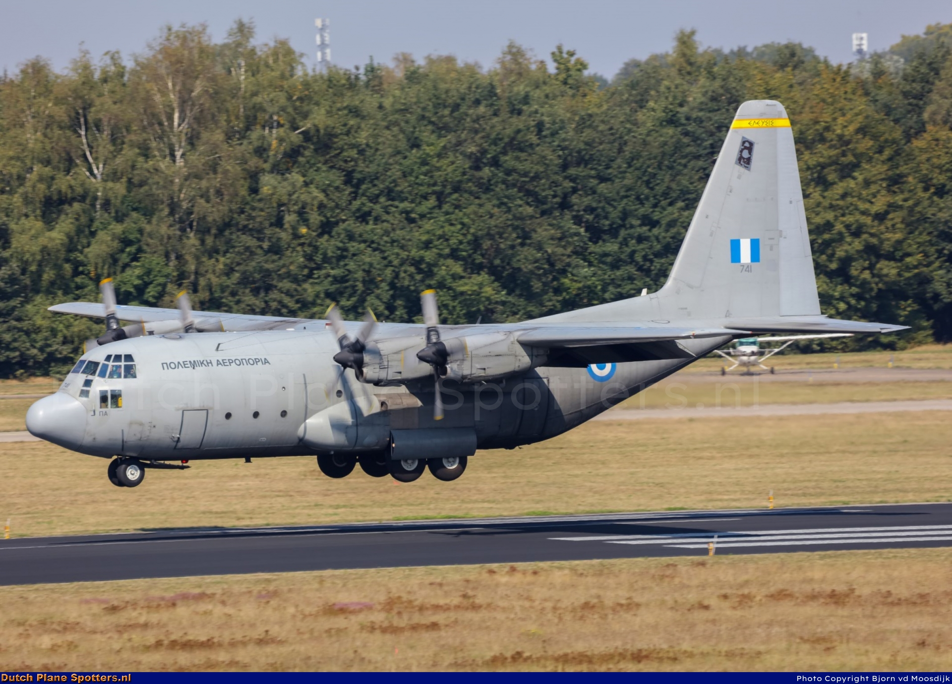 741 Lockheed C-130 Hercules MIL - Greek Air Force by Bjorn vd Moosdijk