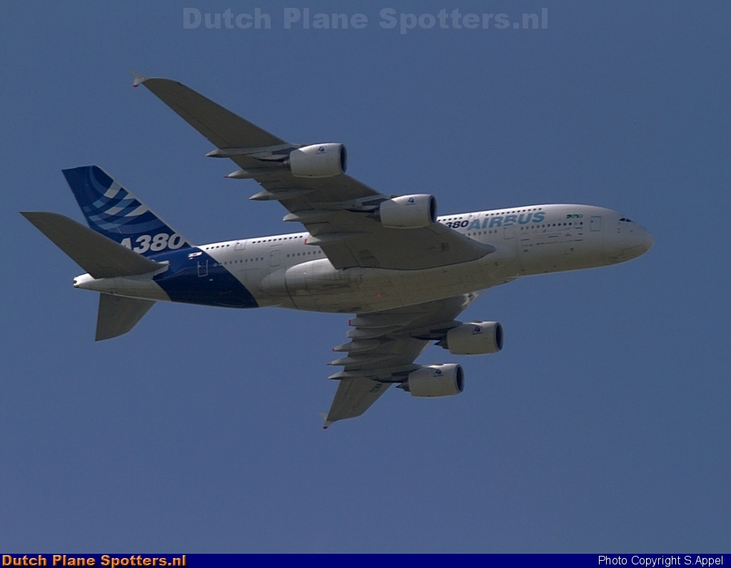 F-WWDD Airbus A380-800 Airbus Industrie by S.Appel