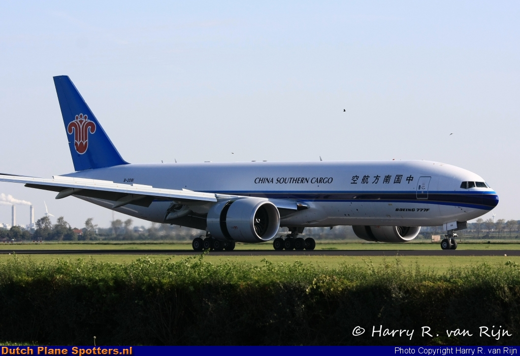 B-2081 Boeing 777-F China Southern Cargo by Harry R. van Rijn