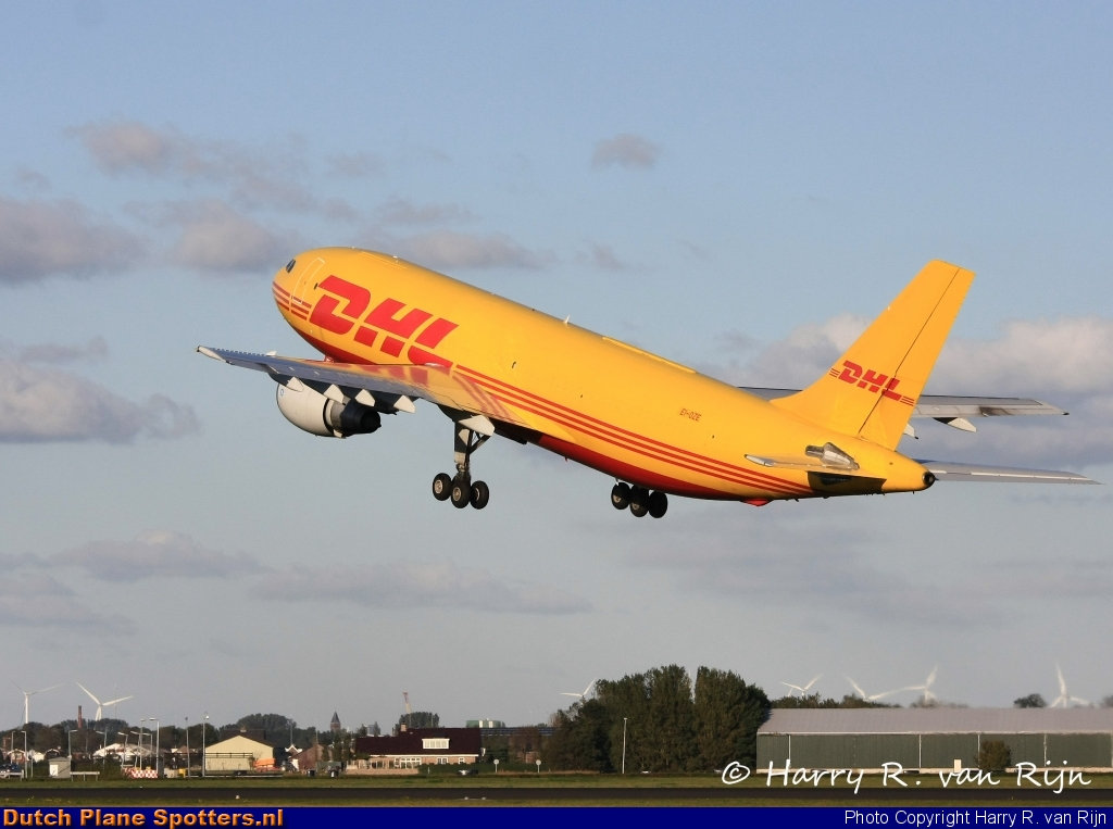 EI-OZE Airbus A300 Air Contractors (DHL) by Harry R. van Rijn