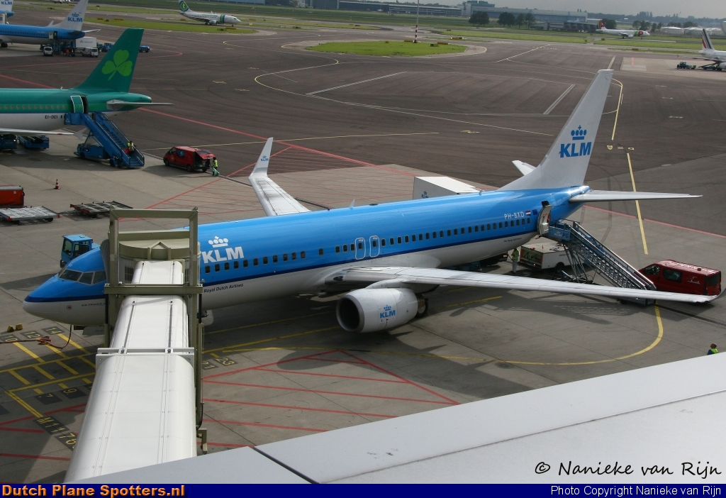 PH-BXD Boeing 737-800 KLM Royal Dutch Airlines by Nanieke van Rijn