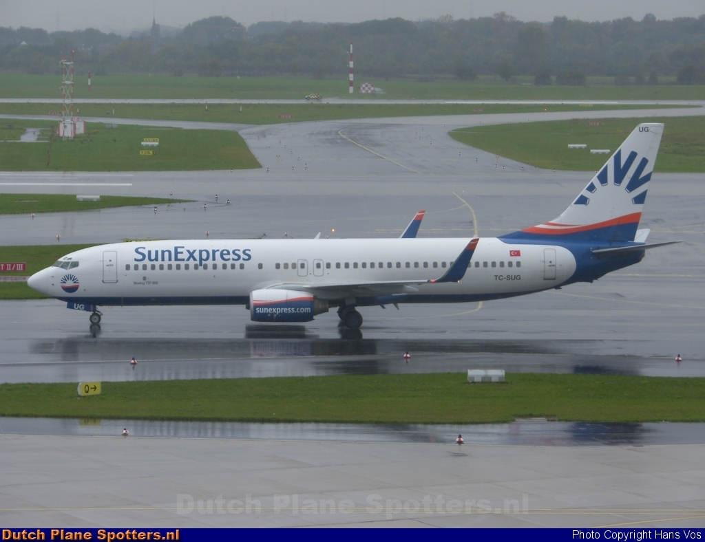 TC-SUG Boeing 737-800 SunExpress by Hans Vos
