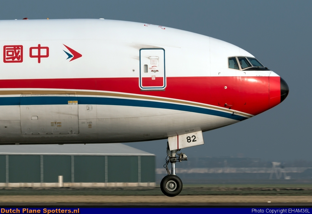B-2082 Boeing 777-F China Cargo Airlines by EHAM36L