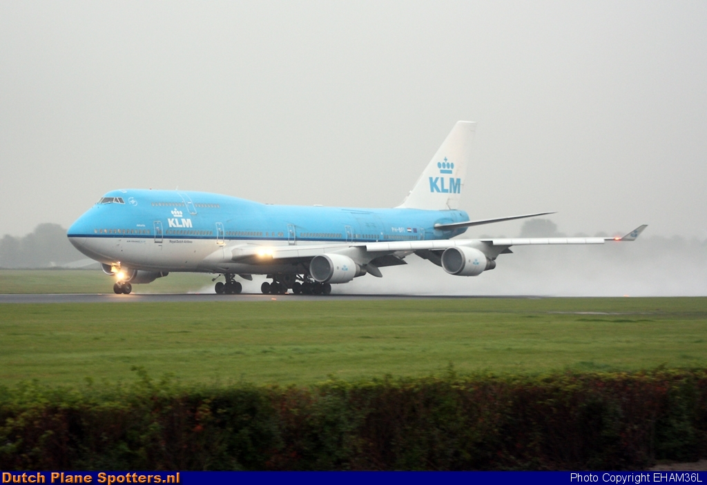 PH-BFI Boeing 747-400 KLM Royal Dutch Airlines by EHAM36L
