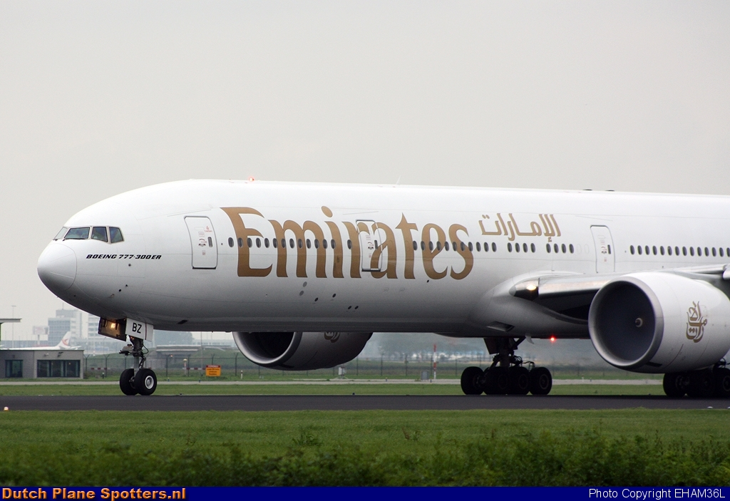 A6-EBZ Boeing 777-300 Emirates by EHAM36L