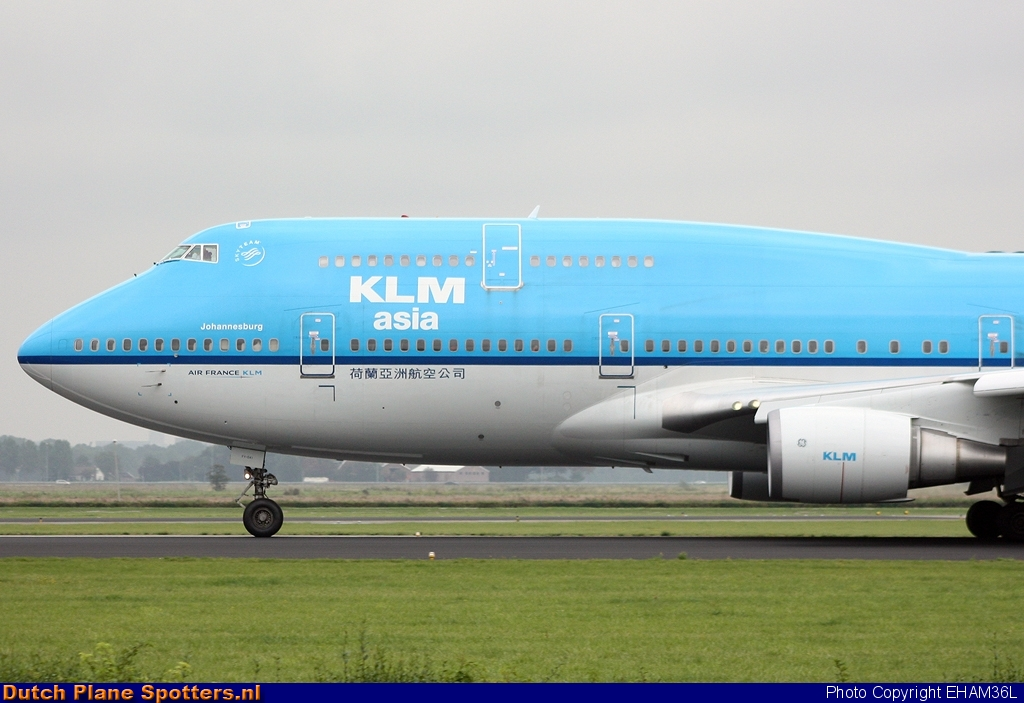 PH-BFY Boeing 747-400 KLM Asia by EHAM36L
