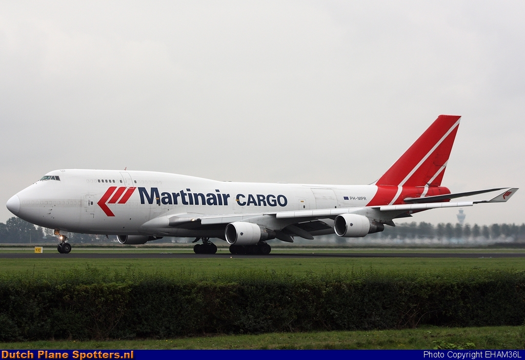 PH-MPR Boeing 747-400 Martinair Cargo by EHAM36L
