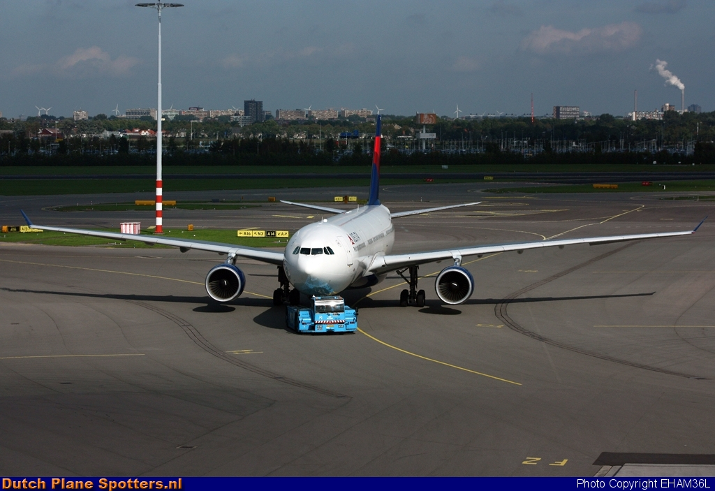 N807NW Airbus A330-300 Delta Airlines by EHAM36L
