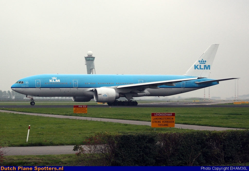 PH-BQL Boeing 777-200 KLM Royal Dutch Airlines by EHAM36L