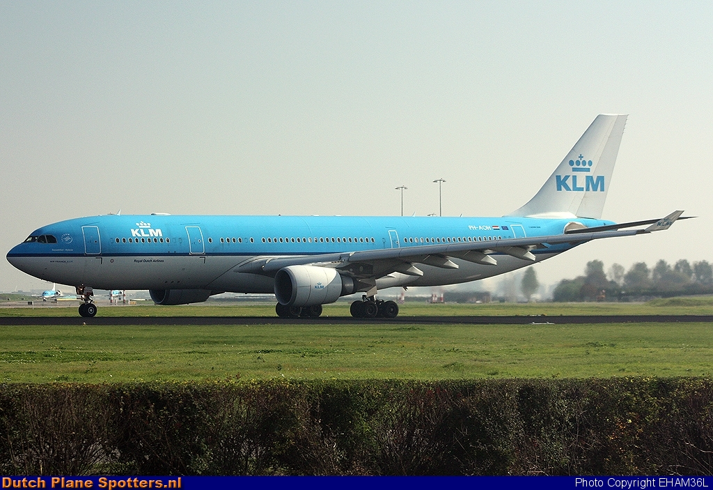 PH-AOH Airbus A330-200 KLM Royal Dutch Airlines by EHAM36L