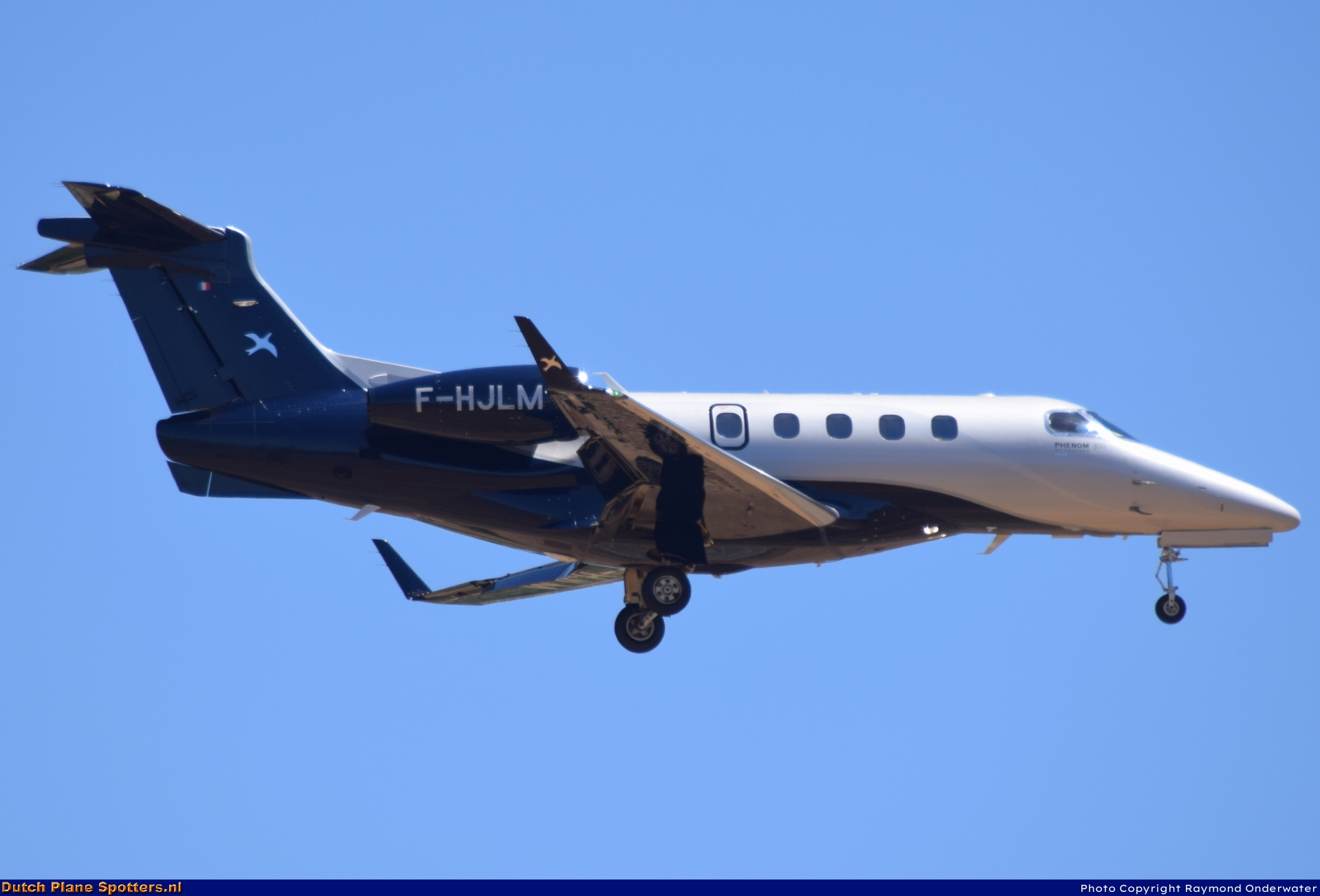 F-HJLM Embraer 505 Phenom 300 Private by Raymond Onderwater